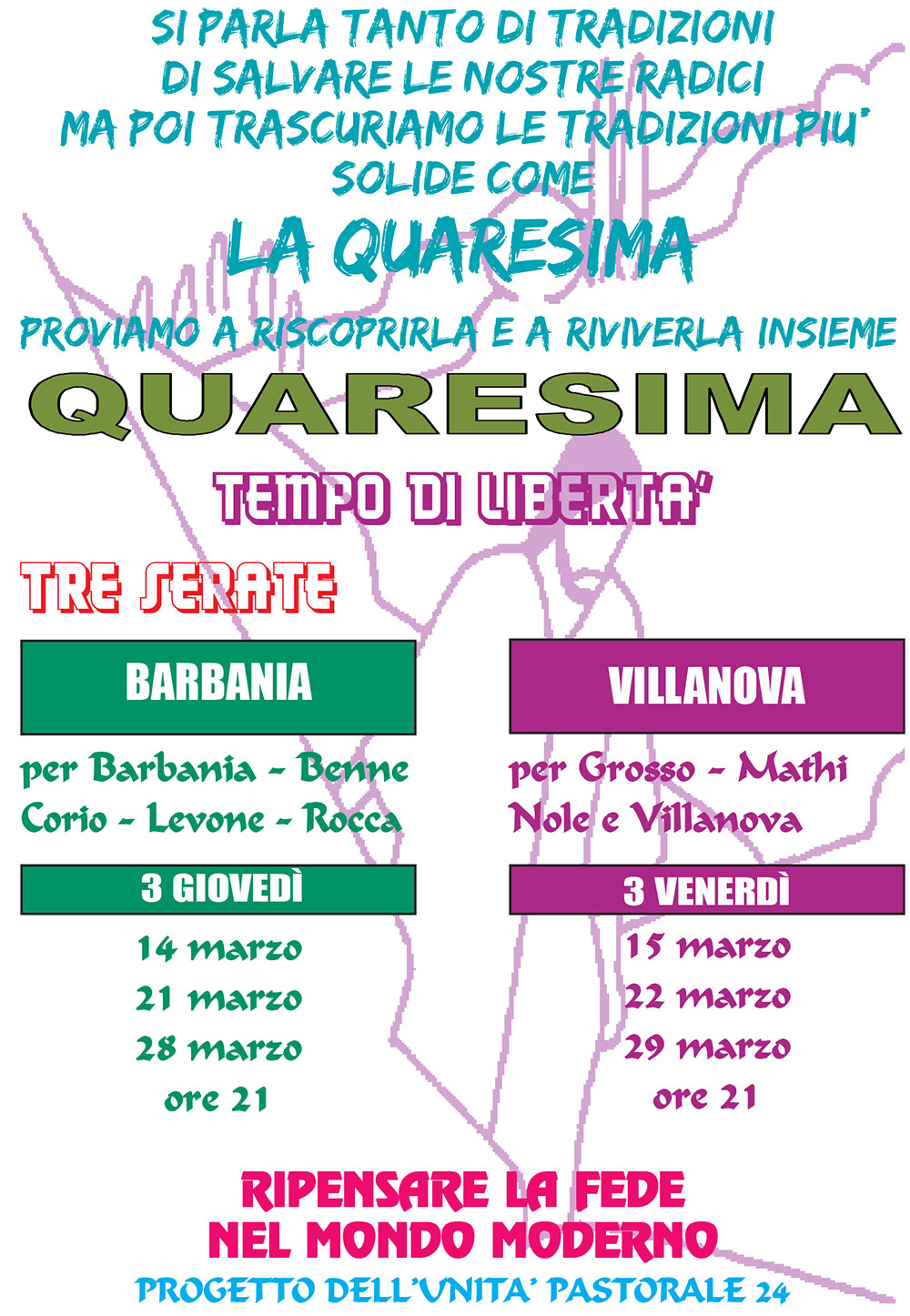 Catechesi di Quaresima 2019 (UP 24)