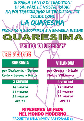 Catechesi di Quaresima